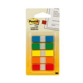3M Post It Flags-1.2 X 4.5 Cm,5 Colors,125 Sheets/Pack