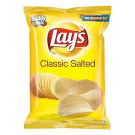 Lays Potato Chips - Classic Salted, 35 gm (Pack of 120)