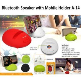 Bluetooth Speaker With Mobile Holder (A-14)
