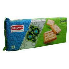 Britannia 50-50 Sweet And Salt Biscuit 50 Gms-PK Of 6