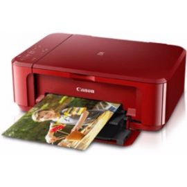 Canon Pixma Mg3670 (Red) Wireless Photo All-In-One With Duplex And Cloud Printing Multi-Function Printer  (Red)