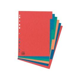 Cardboard File Dividers A4 Assorted 10 SheetsPK - 10 PK