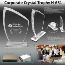 Crystal Trophy (H-651)