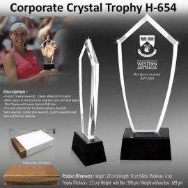 Crystal Trophy (H-654)
