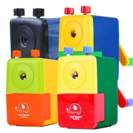 Deli Rotary Pencil Sharpener 0616 Assorted