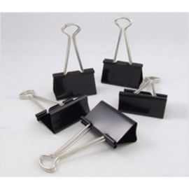 Deli Binder Clip 15Mm (Black) Box