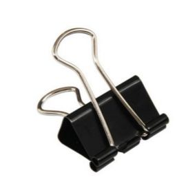 Deli Binder Clip 25Mm (Black) Box
