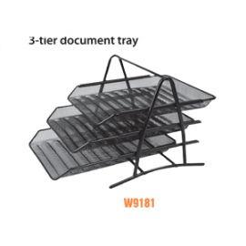 Deli File Basket Black - W9181