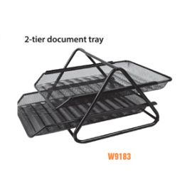 Deli File Basket Black - W9183