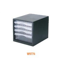 Deli File Cabinet Black W9774