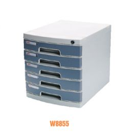 Deli File Cabinet Pale Grey -W8855