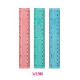 Deli Flexible Ruler Assorted W6205
