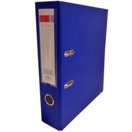 Deli Lever Arch File - Fc 3 Inch Blue - W39656