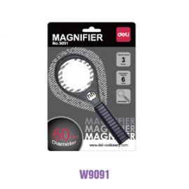 Deli Magnifier Black W9091
