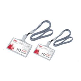 Deli Name Badge Grey-W5744