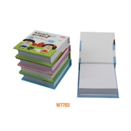 Deli Note Pad 75 X 74Mm Assorted W7703