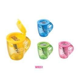 Deli Pencil Sharpener W0551 - Assorted