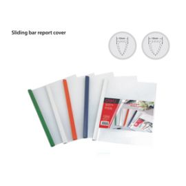 Deli Sliding Bar Report Cover W5531 Assorted