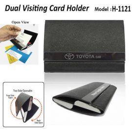 Dual Visiting Card Holder (H-1121)