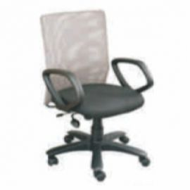 Executive  Chair Afc-221  Nylon  Pp  Synchro Tilt  Pu  Seat Fabric And Black Mesh