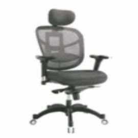 Executive  Chair Afc-253  Nylon  Nylon Base  Synchro Knee Tilt  Pu Adjustable  Seat Leatherite And Back Mesh