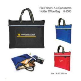 File Folder / A-4 Documents Holder Office Bag (H-1503)