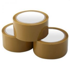 Brown Tape 48 Mm 2 Inch X 50 M -PK Of 10