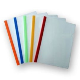 Milky Polypropylene Strip Folder Size A4 - PK Of 10