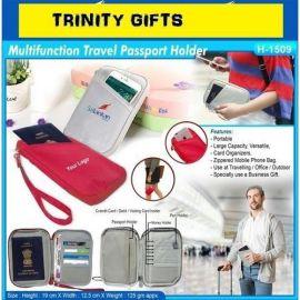Multifunction Travel Passport Holder (H-1509)