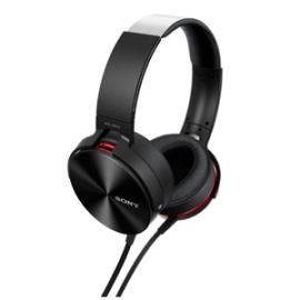 Sony MDR-XB950AP On-Ear Extra Bass(XB) Headphones with Mic (Black)