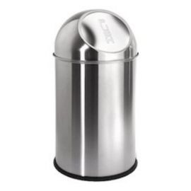 "Stainless Steel Push Bin - 12"" X 36"""