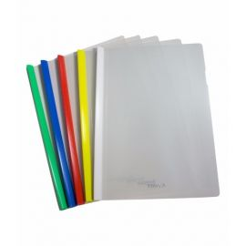 Solo Report Cover Strip File Wide & Thick - PK Of 10