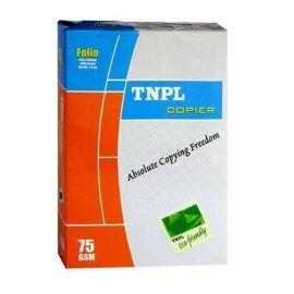 Tnpl Copier Paper Fs 75Gsm White 500Sheets Per Ream-5PK