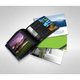 A5 Booklets (Landscape 12 Sides)(25 Booklets)