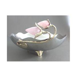 Center Deco Bowl (AI-LT-07) - Brass & Steel