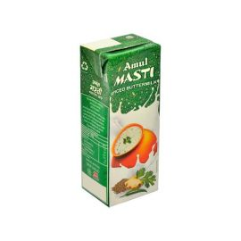 Amul Masti Buttermilk - Spice, 200 ml Carton (Pack of 27)