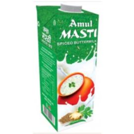 Amul Masti Buttermilk - Spice, 1Ltr Carton