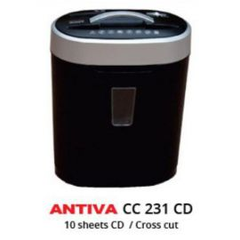 Antiva Paper Shredder Cc231Cd 10 Sheets