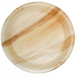 """Areca Leaf Round Disposable Plates 12""""  - Pack of 100"""