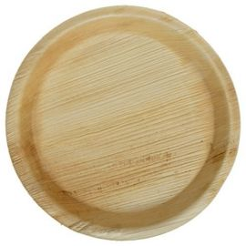 """Areca Leaf Round Disposable Plates 6""""  - Pack of 100"""