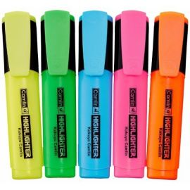 Camlin Highlighter Marker Assorted - PK Of 10