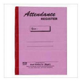 Attendance Register - 1 Quire