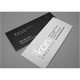 Back To Back Slim Business Card 3(100 Cards)