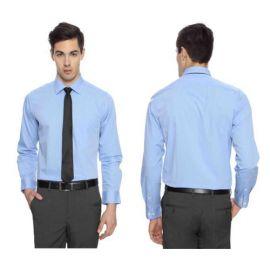 Arrow Men Blue Premium Cotton Shirts -44cm