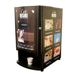 Cafe Desire Premix Vending Machine Two Lane Double Option