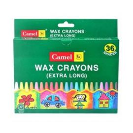 Camel Extra Large Wax Crayon Assorted 4522520 - PK Of 36