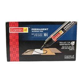 Camin Permanent Marker Black - PK Of 10