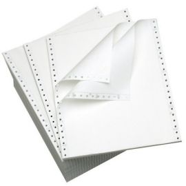 Dot Matrix Printer Paper 10 Inch X 12 Inch X 1 Inch 70 Gsm - PK Of 1000
