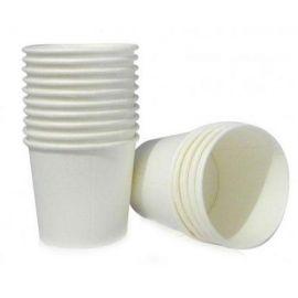 Disposable Paper Tea Cup Plain 150 Ml