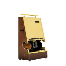 Automatic Shoe Polish Shiner Machine  Gold Heavy With Sole Cleaner